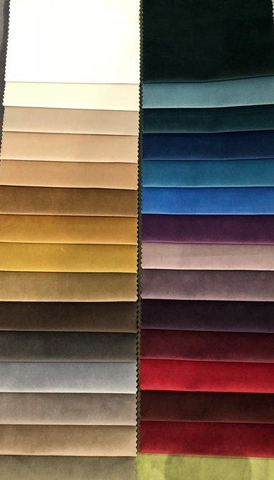 Кровать Wing синего цвета 160х200