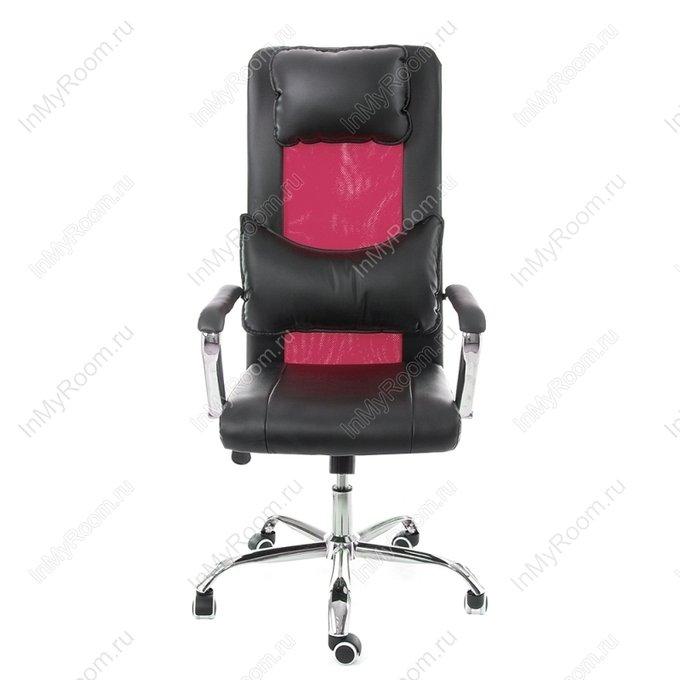 Компьютерное кресло Unic черно-пурпурного цвета