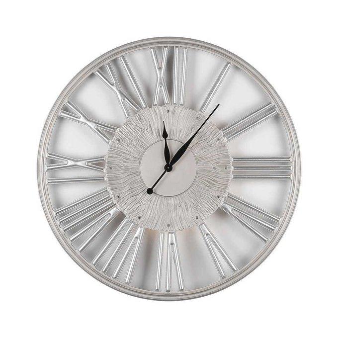 Настенные часы Graceful silver