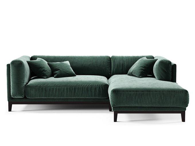 Диван Case зеленого цвета