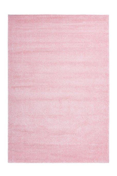 Детский ковер Amigo Plain Pink розового цвета 80х150