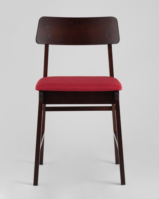 Стулья Oden с мягким сиденьем красного цвета