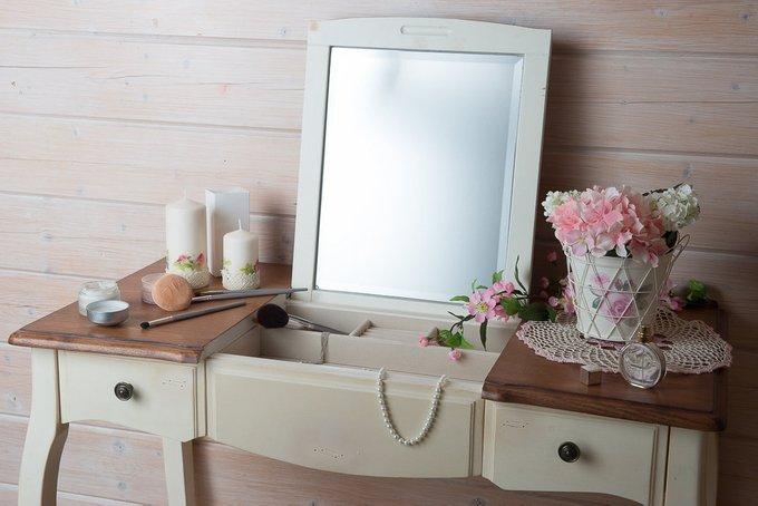 Туалетный столик белая карамель