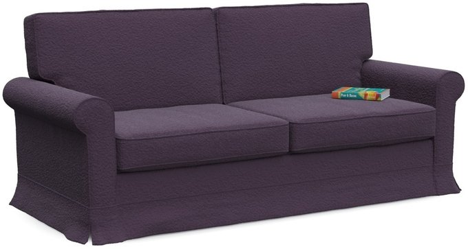 Диван-кровать Classic в отделке Sharpei Plum