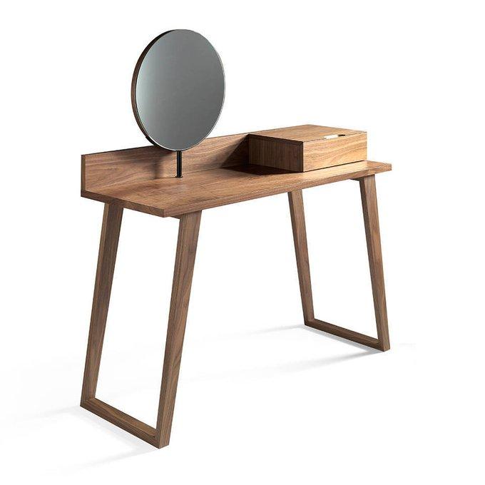 Консоль с зеркалом и выдвижным ящиком
