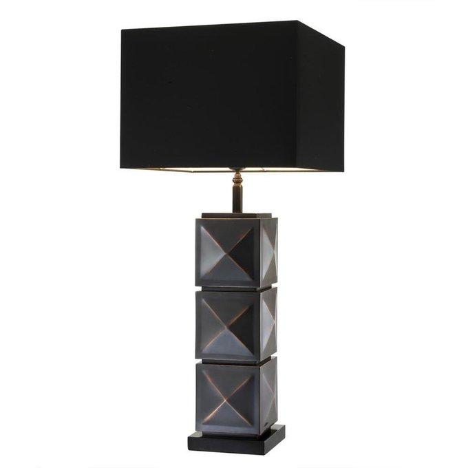 Лампа Carlo с черным абажуром