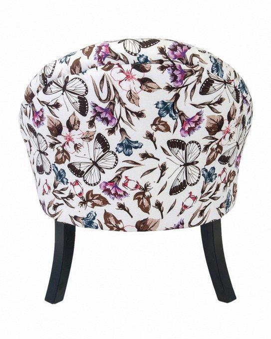 Кресло Desta с деревянными резными ножками