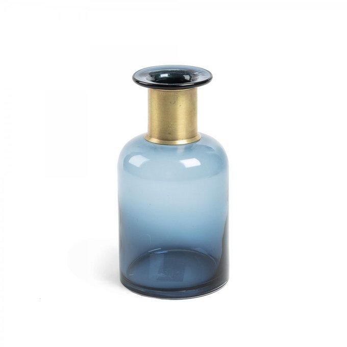 Ваза Inter из синего стекла