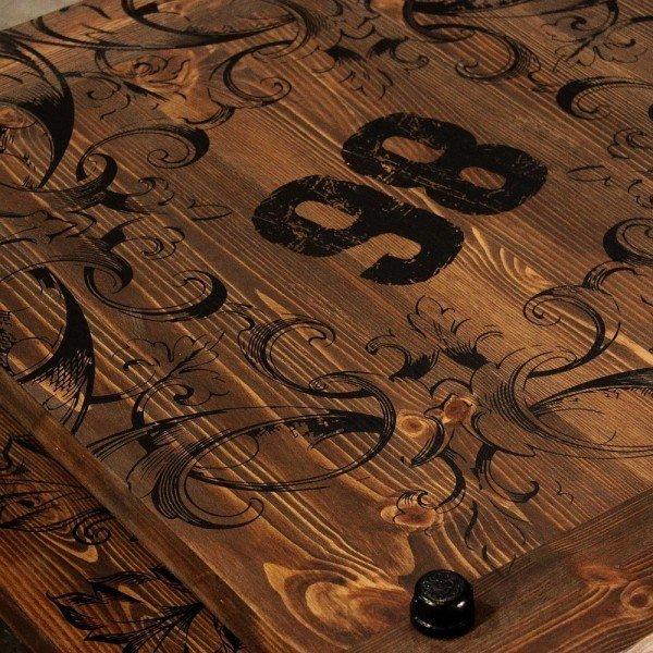 Журнальный столик Chivas из массива сосны