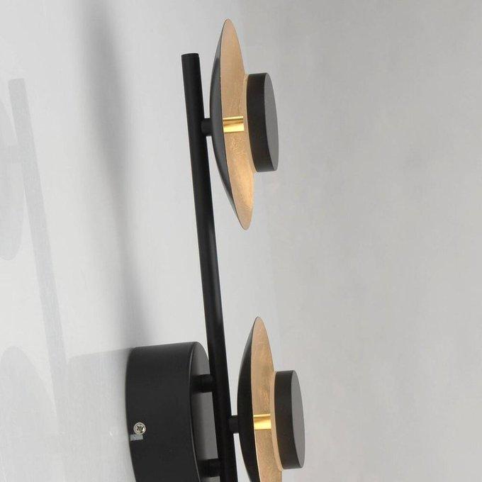 Настенно-потолочный светодиодный светильник Галатея из металла