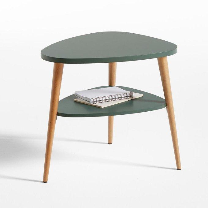 Прикроватный столик Jimi зеленого цвета