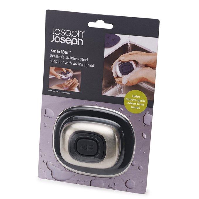 Дозатор для жидкого мыла Joseph Joseph smartbar стальной
