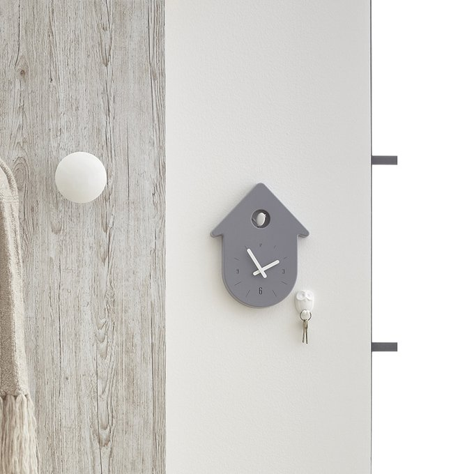 Часы настенные Toc-Toc белого цвета