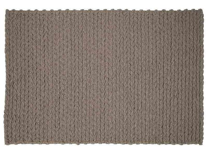 Ковер Trenzas серого цвета 200x300