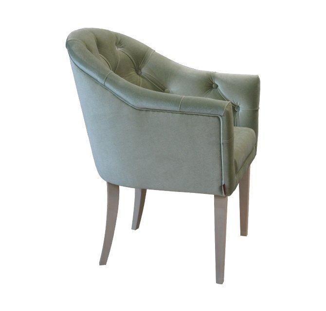 Кресло с полукруглой спинкой Герман