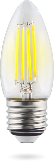 Лампа светодиодная Candle свеча стеклянная