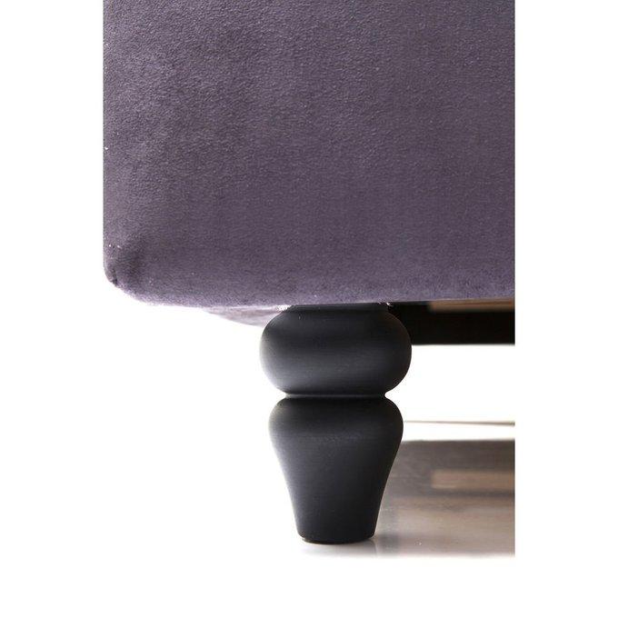 Кровать City Spirit 160х200 серого цвета
