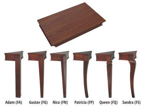 Стол обеденный Varia с ножками из бука