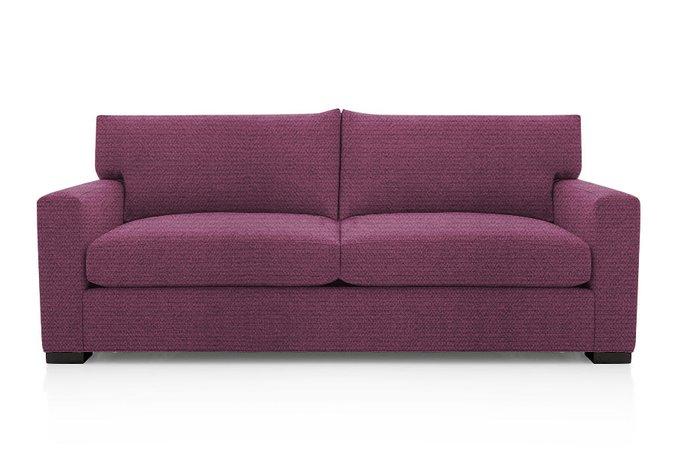 Диван-кровать Нагал бордового цвета