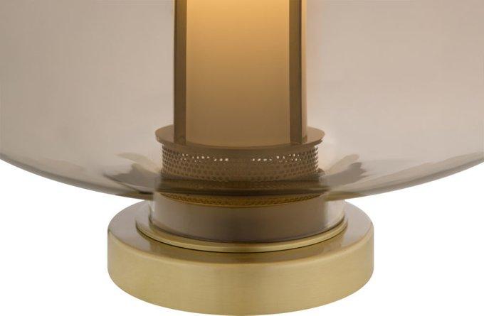 Лампа настольная Brown коричневого цвета