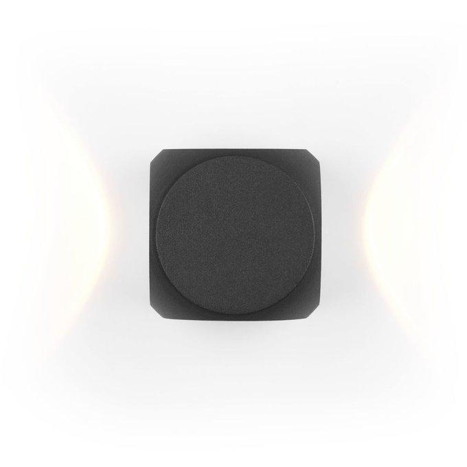 Уличный настенный светильник Bond Street черного цвета