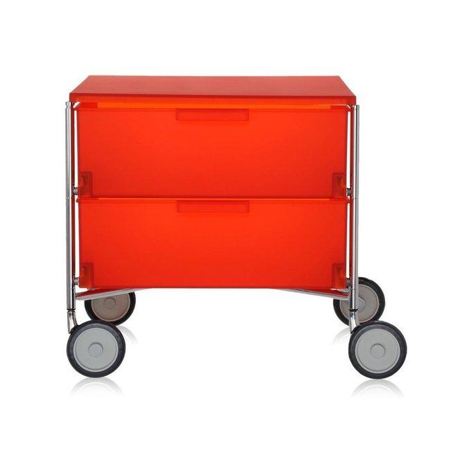 Тумба Mobil оранжевого цвета