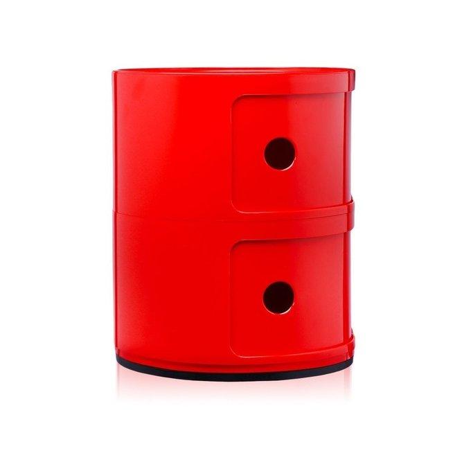 Тумба Componibili красного цвета