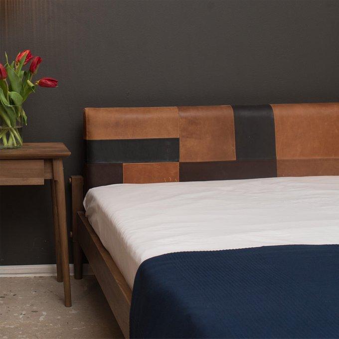 Кровать Katchwork Queen teak 160х200