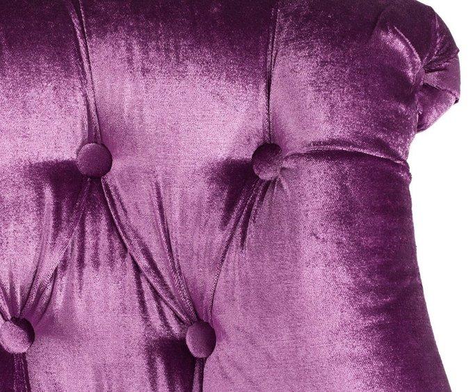 Кресло Sophie Tufted Slipper Chair сиреневого цвета