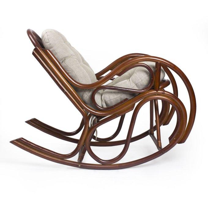 Кресло-качалка Bella коньяк