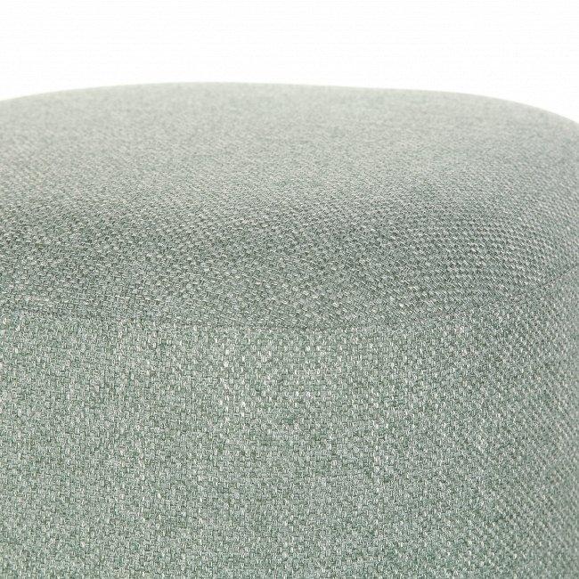Пуф квадратный Pawai серо-бирюзового цвета