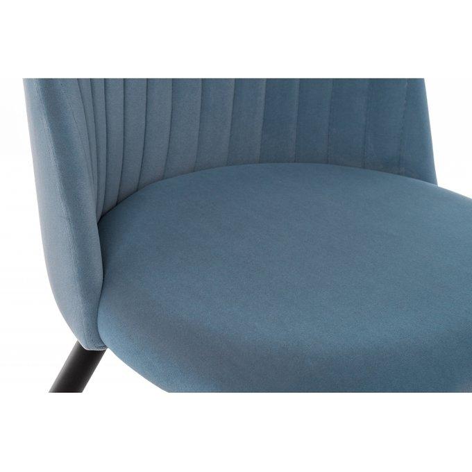 Стул Gabi серо-синего цвета