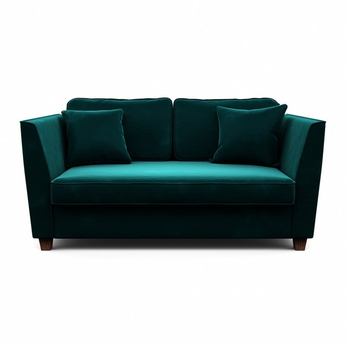 Трехместный диван Уолтер L зеленого цвета