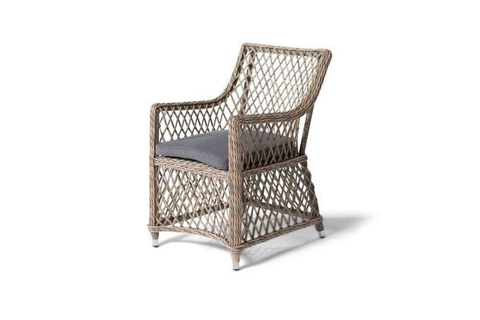 Кресло Латте коричневого цвета