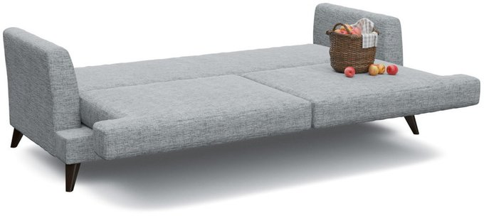 Диван-кровать Верди серого цвета