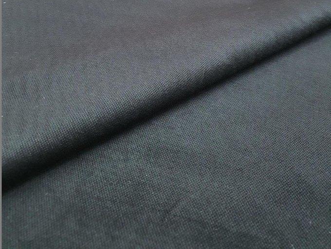 Угловой диван-кровать Ливерпуль черного цвета