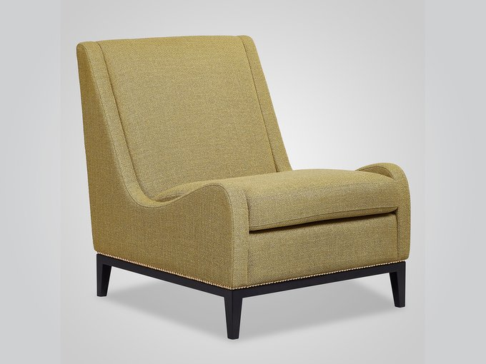 Кресло Grace оливкового цвета