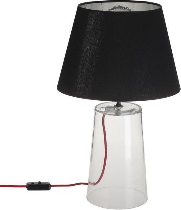Настольная лампа Meg с черным абажуром