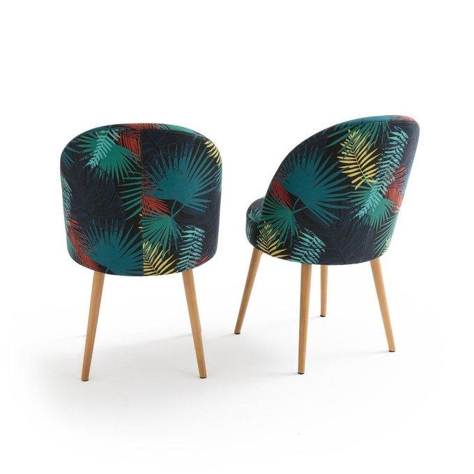 Комплект из двух стульев Quilda с набивным рисунком