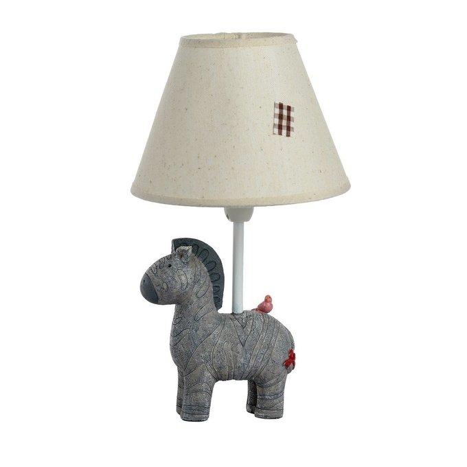 Детская настольная лампа Пони