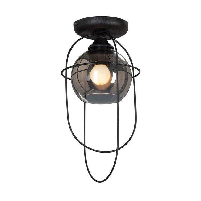 Потолочный светильник с плафоном из стекла