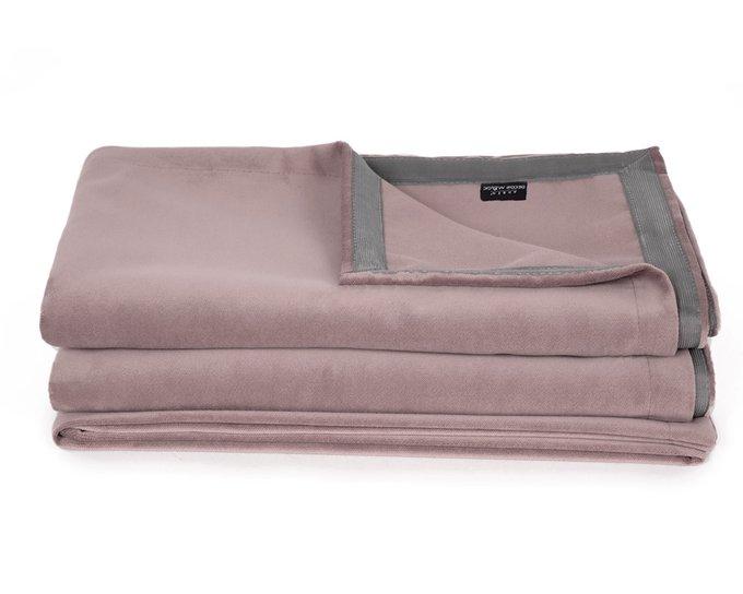 Покрывало Uno Dandy Soufflee 140х210 пильно-розового цвета