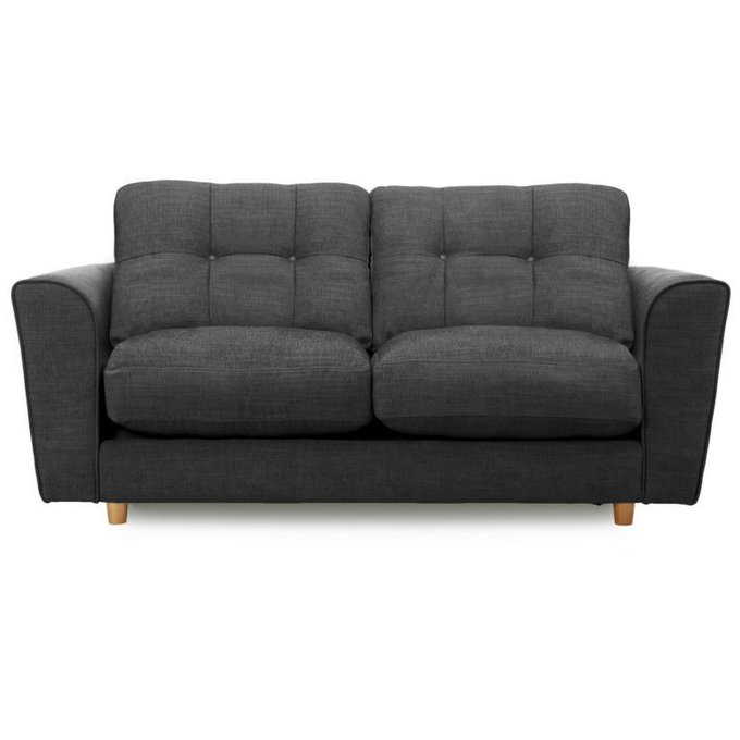 Двухместный раскладной диван Arden MTR  черный