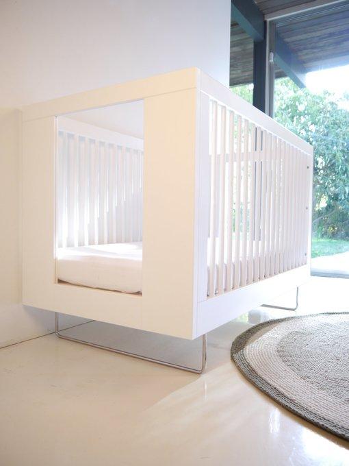 кроватка Alto Clear Acrylic Spot On Square