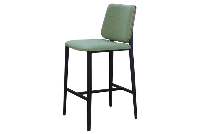 Барный стул Tarancon зеленого цвета