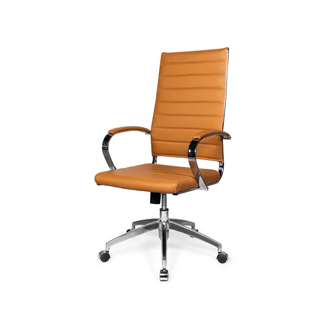 Кресло офисное Serta High оранжевого цвета