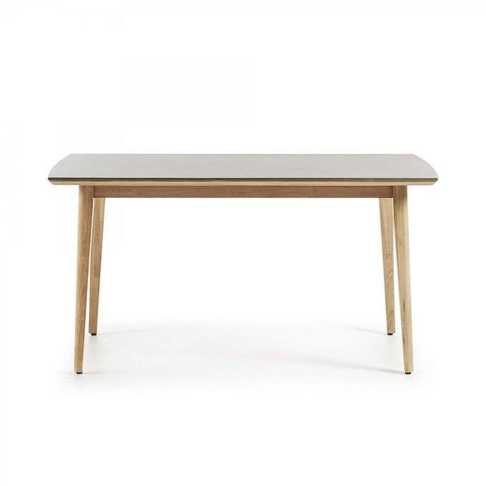 Обеденный стол Khloe из массива дерева