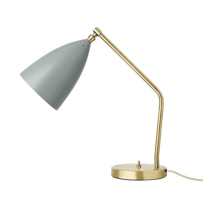 Настольная лампа Milnie Light Blue Table Lamp