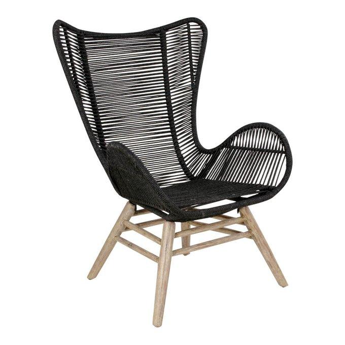 Кресло Helsinki черного цвета
