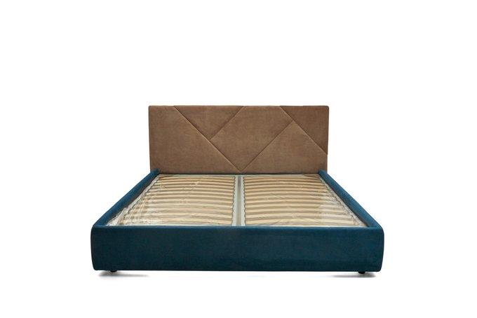 Кровать Армистис с коричневым изголовьем 160х200